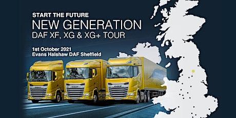 New Generation DAF XF, XG & XG+ Tour at DAF Sheffield tickets
