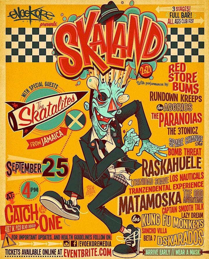 SKALAND 3 - Massive SKA party in Los Angeles ! 3 stages ! image