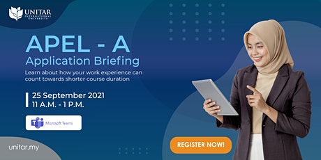 UNITAR: APEL - A Application Briefing tickets