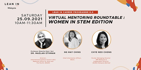 LICP Virtual Mentoring Roundtable - 'Women in STEM' edition tickets
