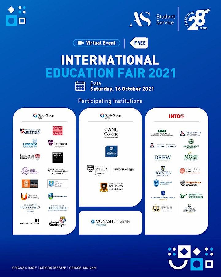 International Education Fair October 2021 image