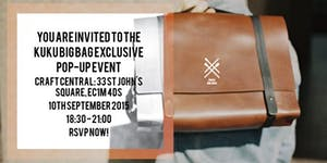 Special invite for exclusive Kuku Big Bag pop-up event