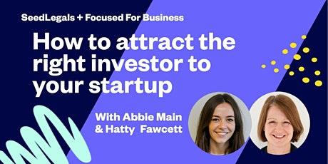 How to attract the right investor for your startup tickets