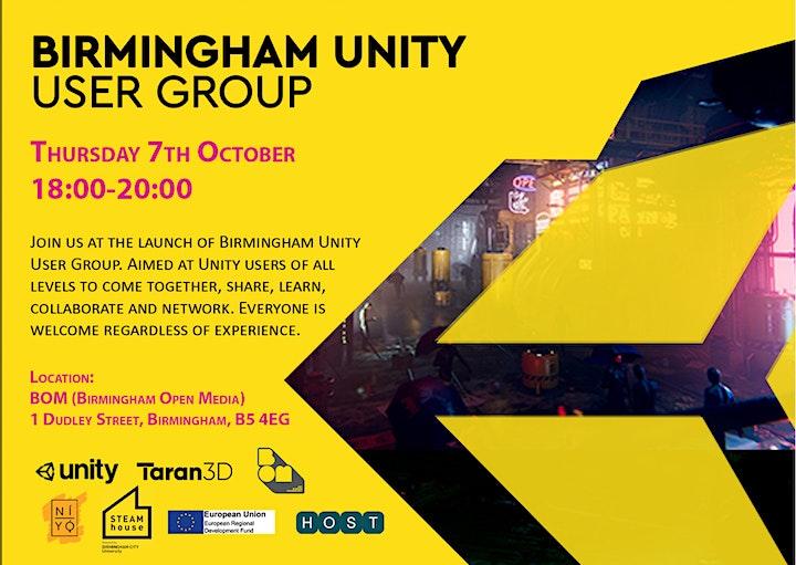 Birmingham Unity User Group image