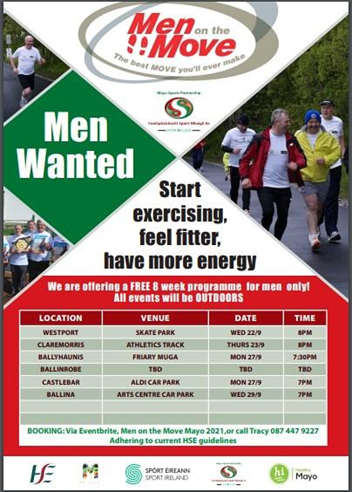 Men on the Move  Mayo 2021 image