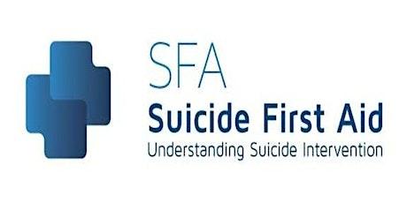 Suicide First Aid Qualification (Understanding Suicide Intervention) tickets