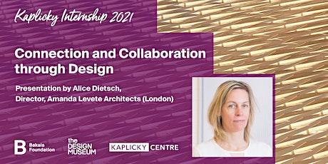Kaplicky Internship 2021: Connection and Collaboration through Design tickets