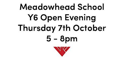 Meadowhead School Y6 Open Evening tickets