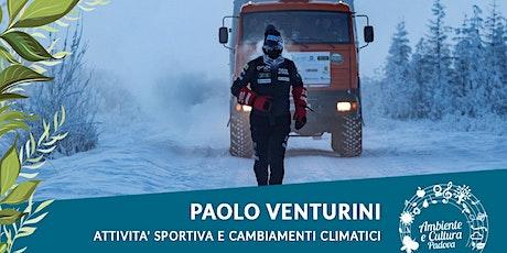 PAOLO VENTURINI | Sport e cambiamenti climatici biglietti