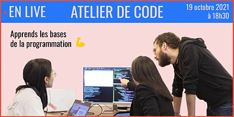 Apprends à coder en 1h avec Ada Tech School - 19/10 billets