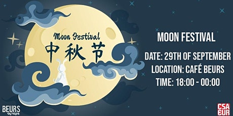 Beurs by night | Wednesday CSA-EUR Moonfestival tickets