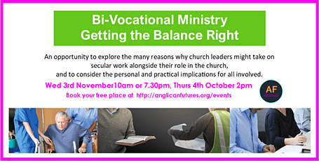 Bi-Vocational Ministry: Getting the Balance Right tickets