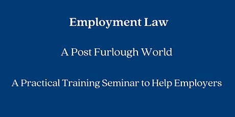 Employment Law Training by Howells Solicitors tickets
