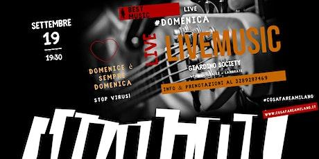 Musica Live in Giardino Nascosto biglietti