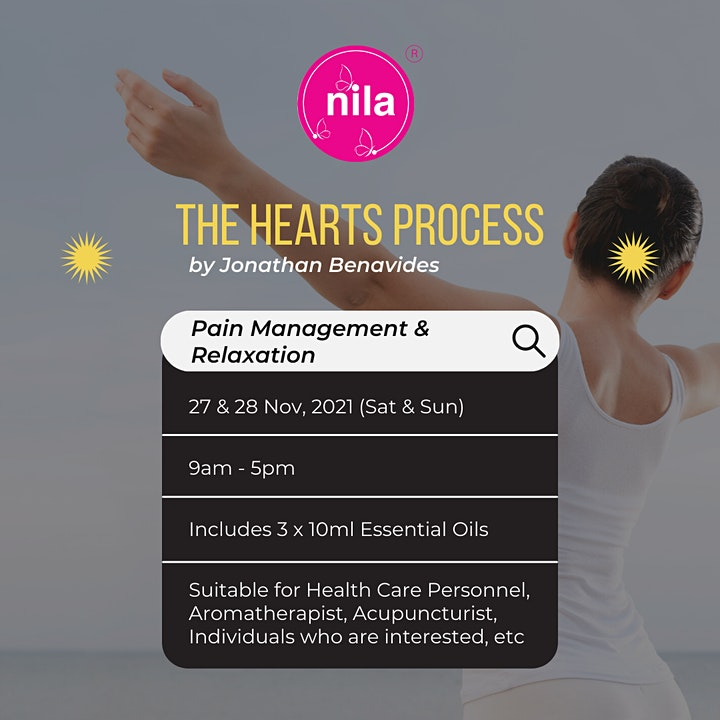 The HEARTS Process for Pain Management & Relaxation by Jonathan Benavides image