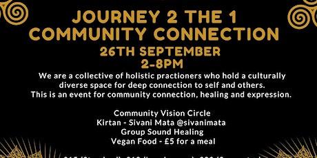 Journey2the1 - Community Connection billets