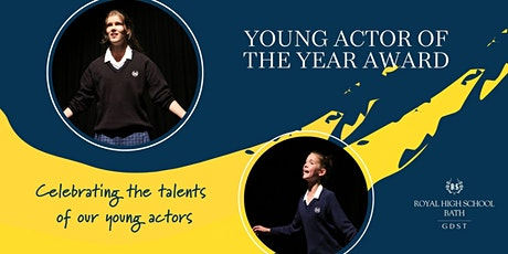 The Young Actor of the Year tickets