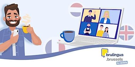 Café-langues virtuel - Intermédiaire/avancé (NL) billets