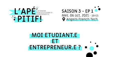 #CREATIV21 : L'APÉPITIF S03E01 - Moi, étudiant.e & entrepreneur.e ? billets