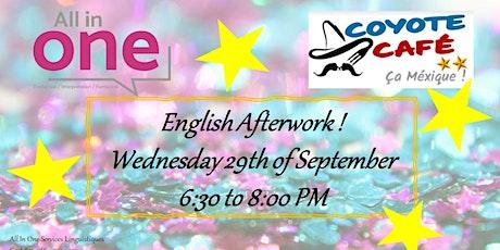 English Afterwork September billets