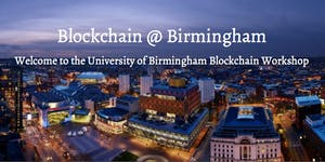 Blockchain @ Birmingham