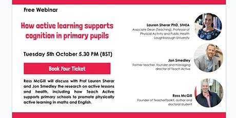 How Active Learning Supports Cognition in Primary Pupils tickets