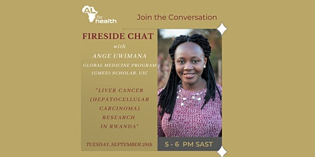 AL for Health Fireside Chat tickets