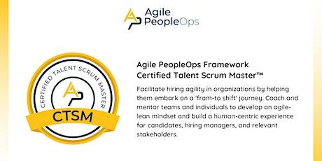 APF Certified Talent Scrum Master™ (APF CTSM™) | Oct 28-29, 2021 tickets