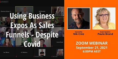 Using Business Expos as Sales Funnels - Despite Covid tickets