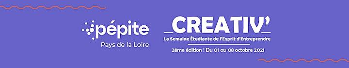 Image pour #CREATIV21 : L'APÉPITIF S03E01 - Moi, étudiant.e & entrepreneur.e ?