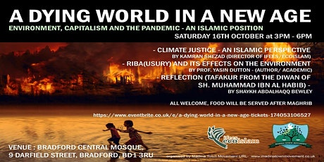 A Dying World in a New Age tickets