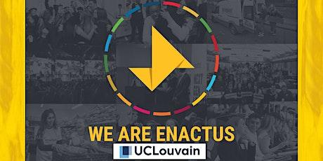 Enactus LLN - Kick Off 2021 billets