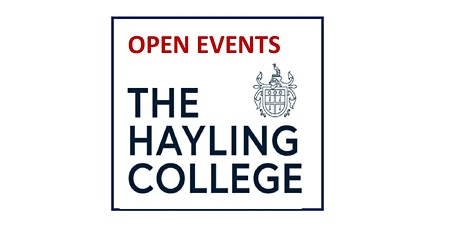 The Hayling College  - Open Event tickets