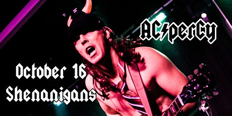 AC/perCy - Back in Black @ Shenanigans October 16 tickets