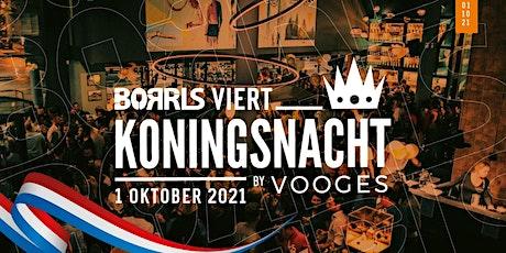 BORRLS viert Koningsnacht 2020 in 2021 (Uitverkocht) tickets