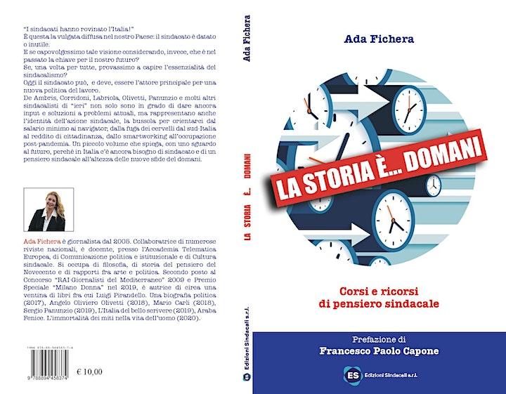 """Immagine Presentazione libro """"La storia è... domani"""" di Ada Fichera"""
