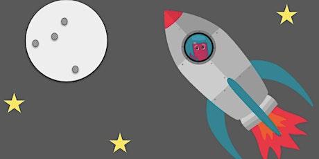 Digitale Formenkunst: Redys Reise zum Mond Tickets
