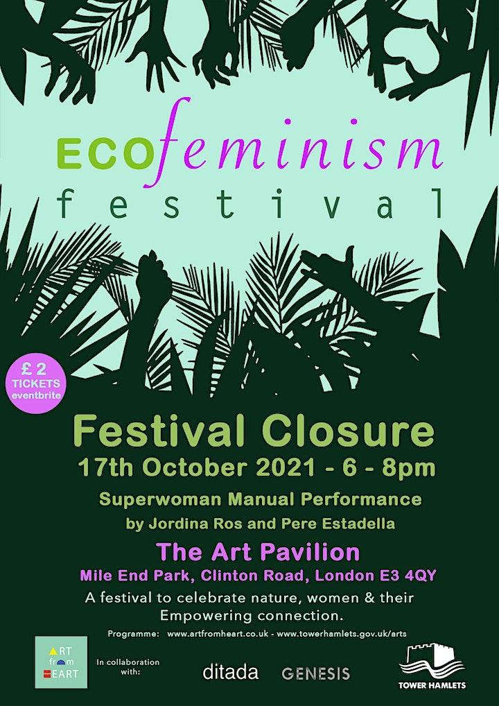 ECOFeminism Festival  Closure: Superwoman Manual Performance image