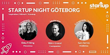 Startup Night Göteborg tickets