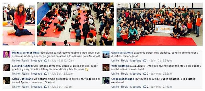 Imagen de CABA - 23/10 CURSO RCP Y PRIMEROS AUXILIOS EN CABA