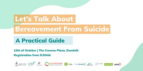 Let's Talk About Bereavement From Suicide: A Practical Guide tickets