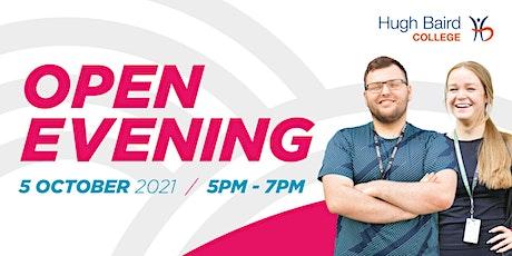 Open Evening tickets
