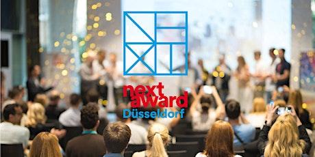 Prämierungsfeier NEXT Award Düsseldorf 2021 Tickets