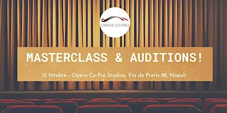 Opera Co-Pro Masterclass & Auditions - Napoli 2021 biglietti