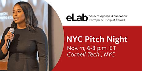 eLab NYC Pitch Night tickets