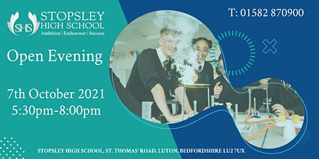 Stopsley High School Open Evening tickets