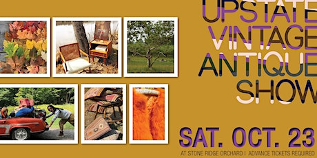 UPSTATE VINTAGE ANTIQUE SHOW | FALL COLLECTION 2021 tickets