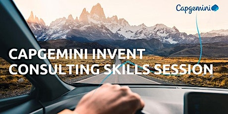 Capgemini Invent- Skills Session at the University of Oxford tickets