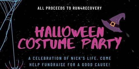 Nick's 30th Celebration of Life/Fundraiser/Halloween Party tickets