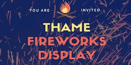 Thame Fireworks tickets